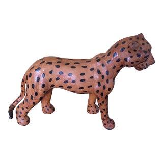 Handmade Cheetah Figurine