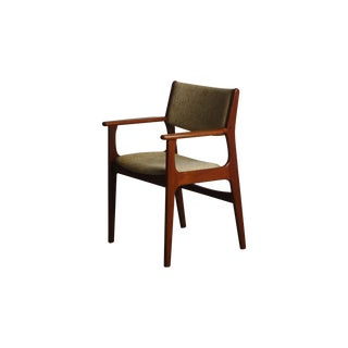 Johannes Andersen Teak Captains Dining Chair