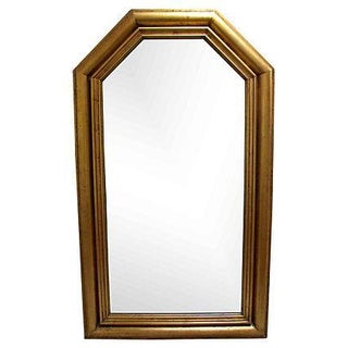 Large Italian Gilt Wood Mirror