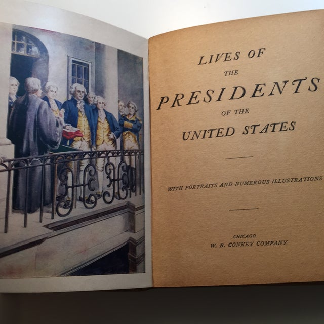Image of Lives of the Presidents of the United States 1900