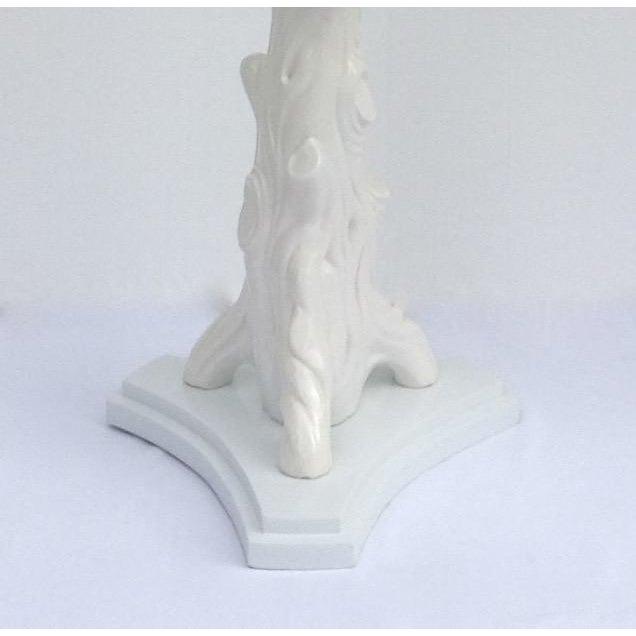 Mid-Century Porcelain Faux-Bois Floor Lamp - Image 9 of 11
