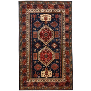 """New Traditional Hand Knotted Area Rug - 3'10"""" x 6'3"""""""