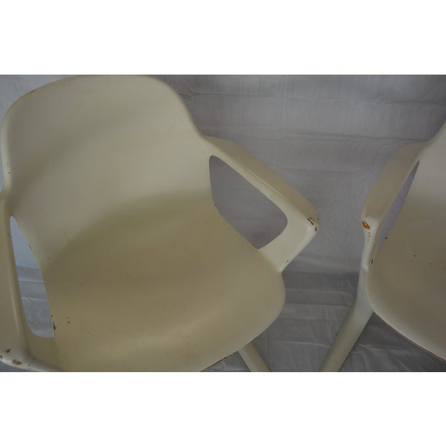 Image of Ernst Moeckl Kangaroo Armchairs - A Pair