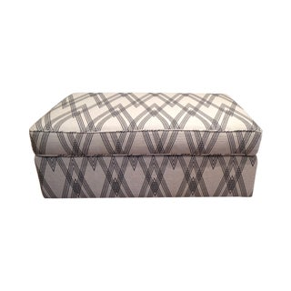 Newly Upholstered Ottoman