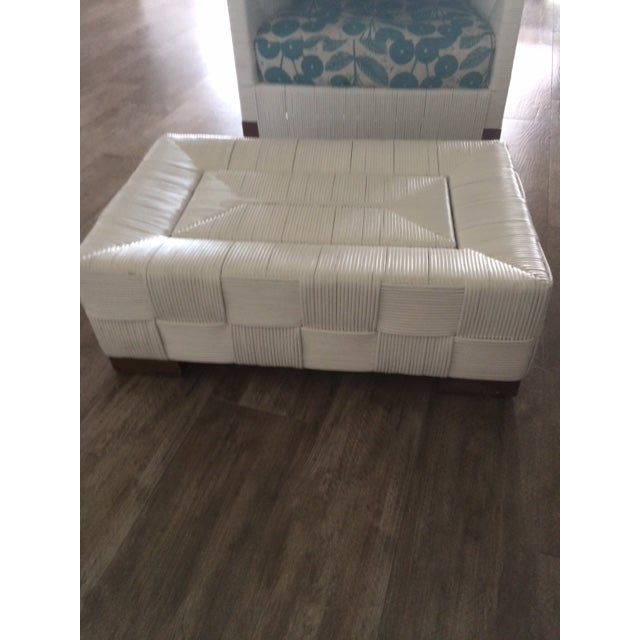 Donghia Block Island 2 Armchairs and Ottoman W/New Goose Down Pillows - Image 8 of 8
