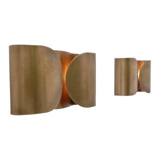 Pair of Folio Sconces by Tobia Scarpa