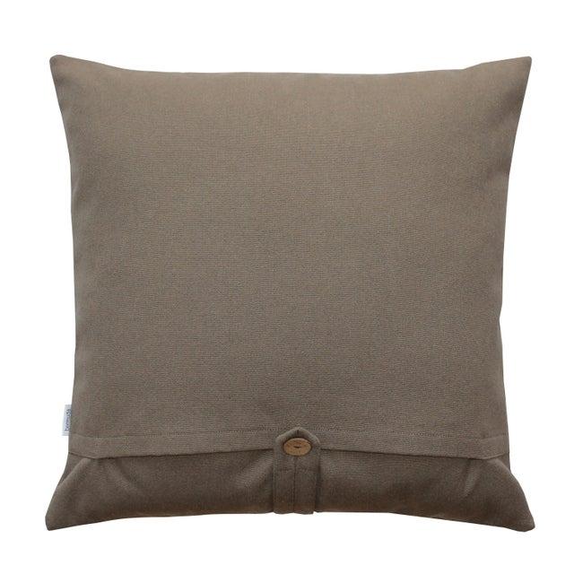 Geometric Modern Design Cotton Pillow - Image 2 of 2