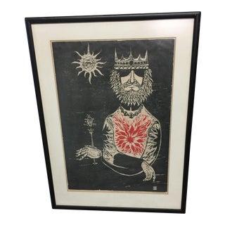 "Thomas Elsner ""Sometimes I am Royalty"" Print"
