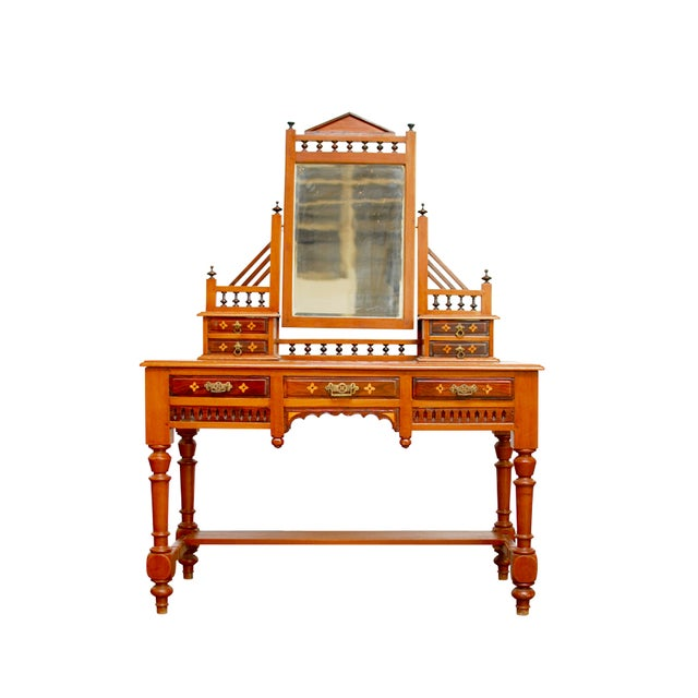 Dutch Colonial Dressing Table Vanity - Image 1 of 7