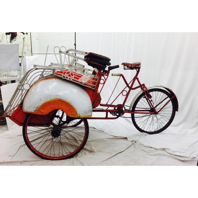 Vintage Indian Rickshaw Cart - Image 5 of 11