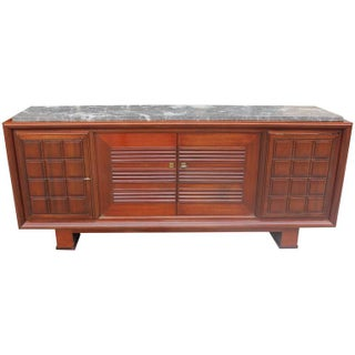 Maxime Old French Art Deco Mahogany Buffet