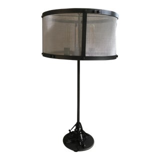 Restoration Hardware Riveted Mesh Table Lamp