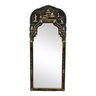 Hand Painted Chinoiserie Mirror