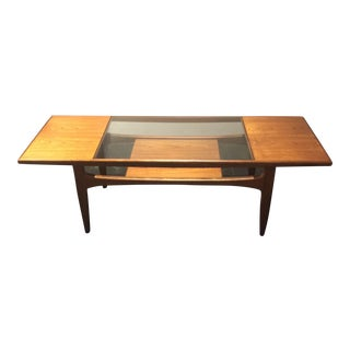 Victor Wilkins for G-Plan Teak Surfboard Table