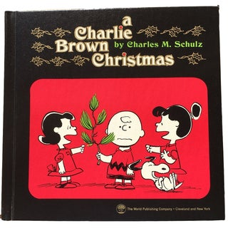 1965 A Charlie Brown Christmas Book Hardcover, 1st Edition by Charles Schulz
