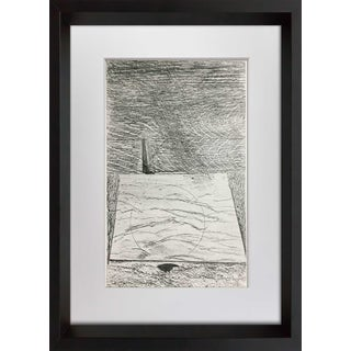 """Max Ernst """"The Sea and the Rain"""" Lithograph"""