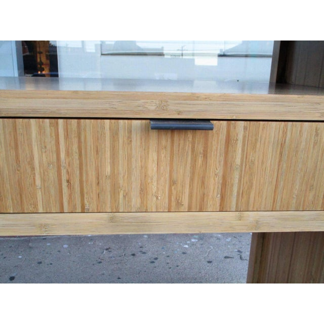 Solid Bamboo Console or Sofa Table - Image 2 of 5