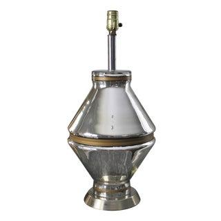 Mid-Century Mercury Glass Lamp