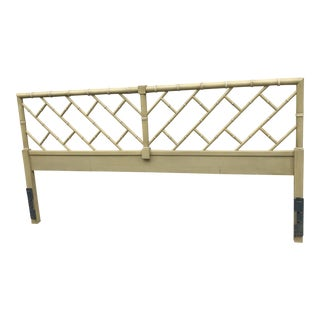 Chippendale Faux Bamboo King Size Headboard