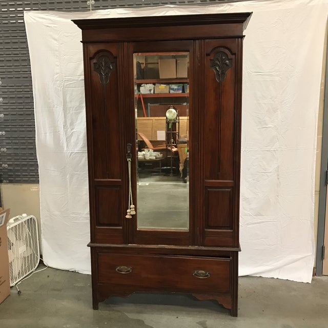 Armoire Chambre Style Colonial : Antique british colonial style armoire chairish