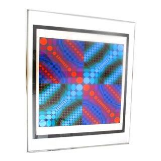 Victory Vasarely Geometric Op Art
