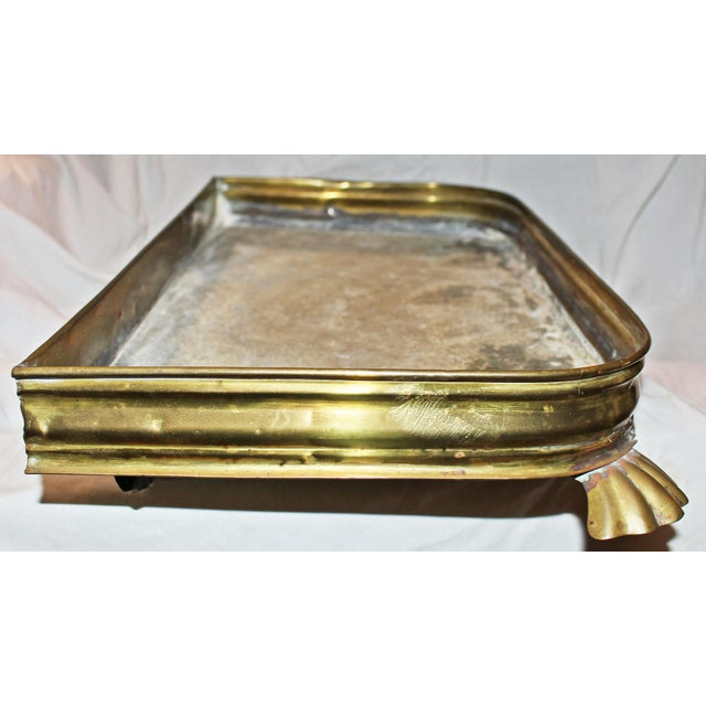 Antique Brass Planter Tray - Image 5 of 7