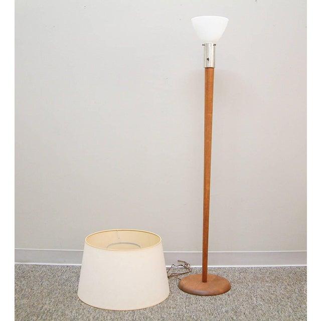 Walnut Floor Lamp Attributed to Vladimir Kagan - Image 3 of 7