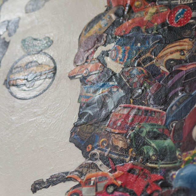 """""""From Beetles to Beatles"""" Mixed Media - Image 5 of 6"""