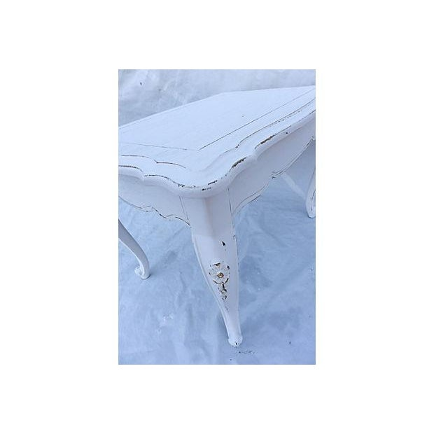 French Cottage Style Side Table - Image 5 of 8