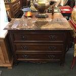 Image of Bernhardt Three Drawer Dresser With Marble Top