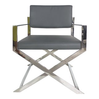 Artifacto of Brazil Style Topcapi Chrome Chair