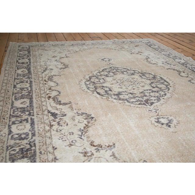 "Distressed Oushak Carpet - 7'3"" x 10'4"" - Image 2 of 4"