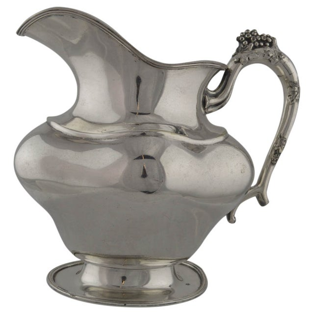 Antique Silverplate Pitcher - Image 1 of 10