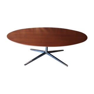 Mid-Century Refinished Knoll Style Dining Table