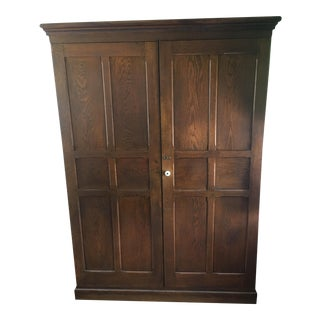 Antique Oak Pantry, Linen Closet or Armoire