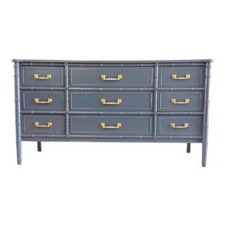 Vintage Henry Link Hali Bai Faux Bamboo Dresser