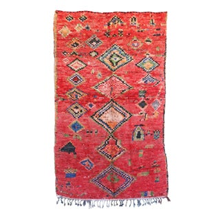 """Vintage Boujad Moroccan Rug - 4'9"""" x 7'11"""""""