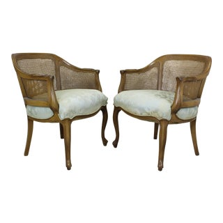 Vintage French Style Chairs - A Pair - Mid Century French Style Chairs