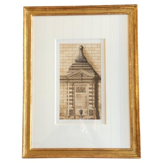 Original Architectural Watercolor Painting
