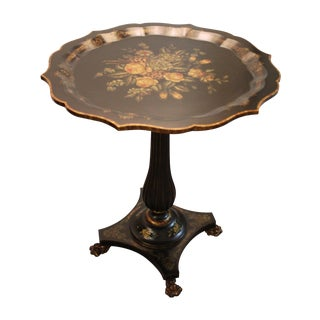 Maitland-Smith Floral Cocktail Table