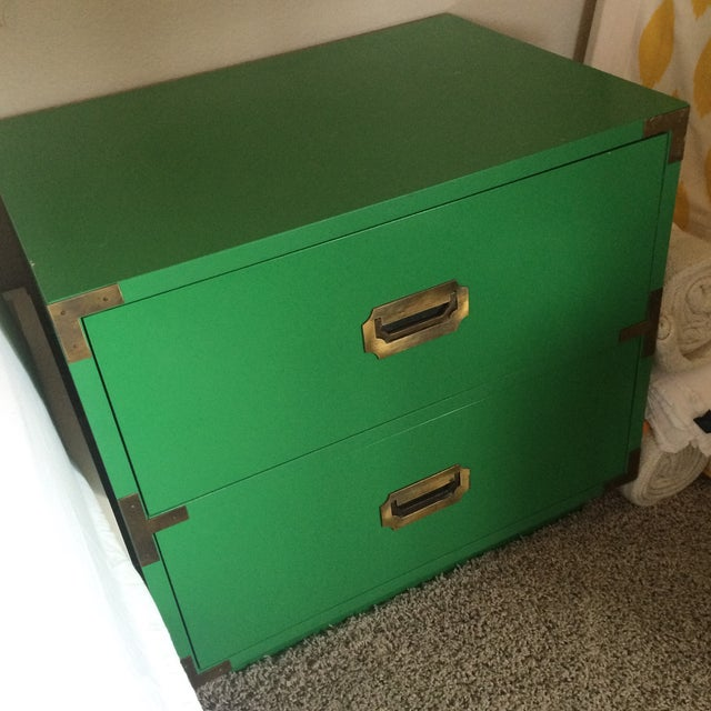 Dixie Campaign Nightstands - Pair of Two - Image 5 of 8