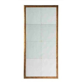 Lillian August Duke Weathered Wood Wall Mirror