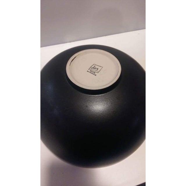 Jars France Samoa Vert Green Glazed Pottery Bowl - Image 7 of 8