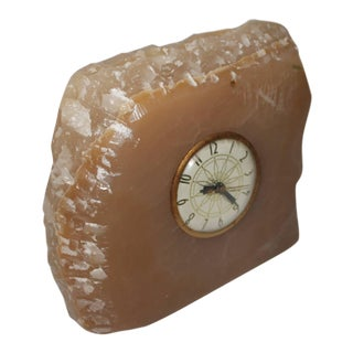 Early 20th Century Monumental Quartz Electric Clock with Original Works