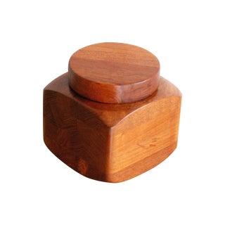 Esa Denmark Teakwood Staved Box & Lid