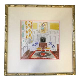 Dana Gibson Interior Space Watercolor Print
