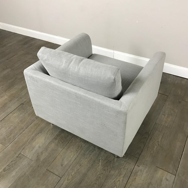 Clean Lined Modern Armchair - Image 11 of 11