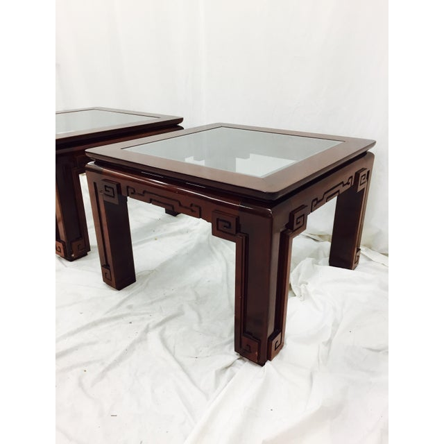Vintage Asian Ming Style Side Tables - A Pair - Image 5 of 10
