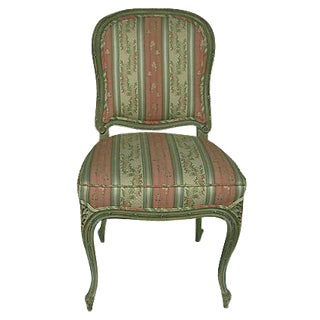 French Provincial Striped Lisere Chair