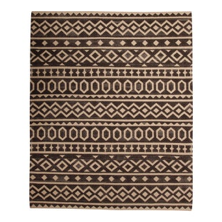 Indian Handmade Wool Rug - 8′ × 10′